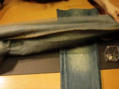 DIY come riutilizzare un paio di jeans ★ Venti3 ★