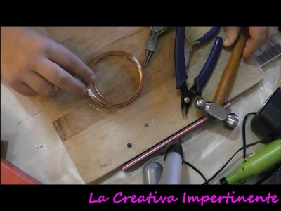 DIY - Tutorial Cuore in filo metallico - wire heart Valentine