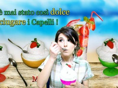 DIY ☆ TUTORIAL dolce TURBANTE asciuga capelli ai Tropici ! ☆ Marisa'Style