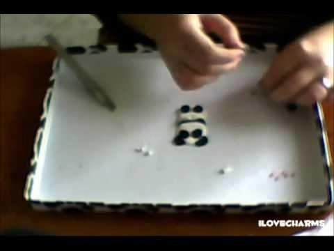 DIY:Tutorial polymer clay. fimo Panda Puccioso