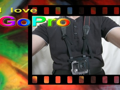 Gopro tutorial italiano - Supporto da petto - Chesty DIY