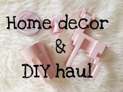 Home decor e DIY HAUL
