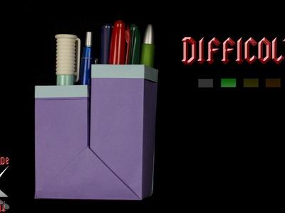 [ORIGAMI ITA] Porta Penne (Dimensioni PERSONALIZZABILI) || Scatole.Facili.Utili