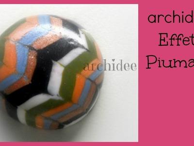 Tutorial | Polymer Clay | Effetto Piumato | Cabochon DIY | Principianti
