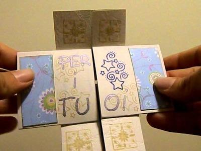 Biglietto origami
