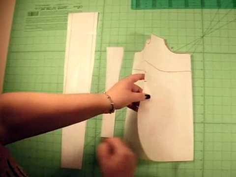 Borsa di stoffa strip piece parte 3
