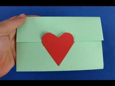 Busta da lettere origami envelope