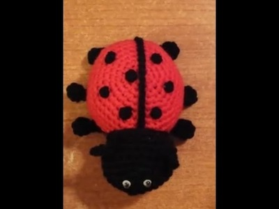 Coccinella all'uncinetto amigurumi tutorial crochet