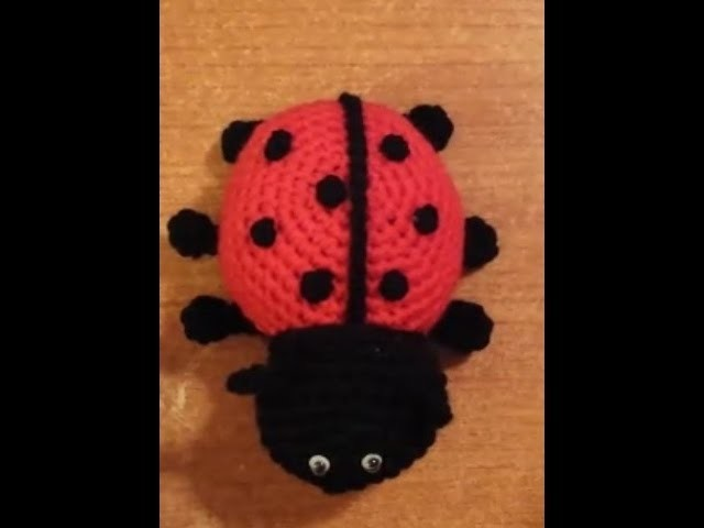 Coccinella all'uncinetto amigurumi tutorial crochet