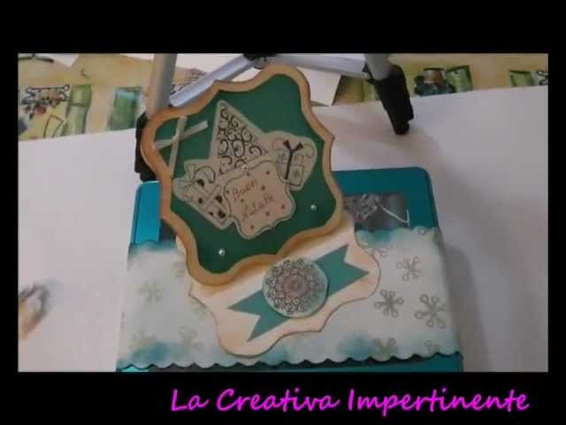 Collaborazione con sfida creativa e prima decorazione (paper craft)