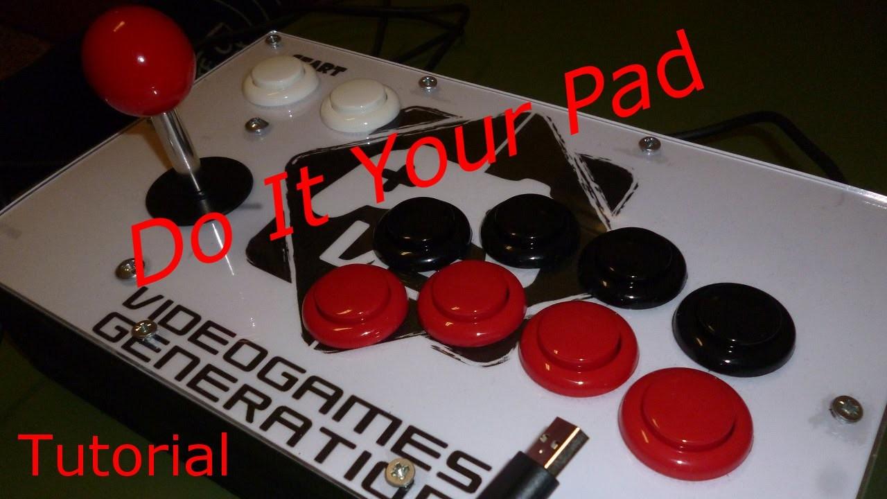 Come costruire un arcade stick - Tutorial - DIY - Do It Your Pad