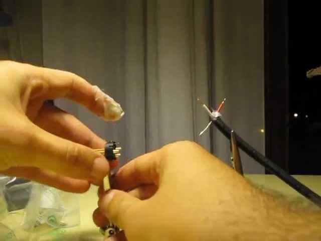 DIY - Autocostruzione (assemblaggio) cavo bilanciato microfono XLR - guida tutorial saldatura