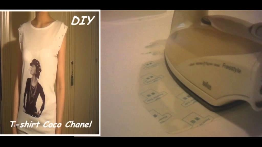 DIY Come stampare su una T-shirt