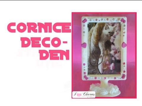 DIY:Cornice deco den. how to make a frame deco den