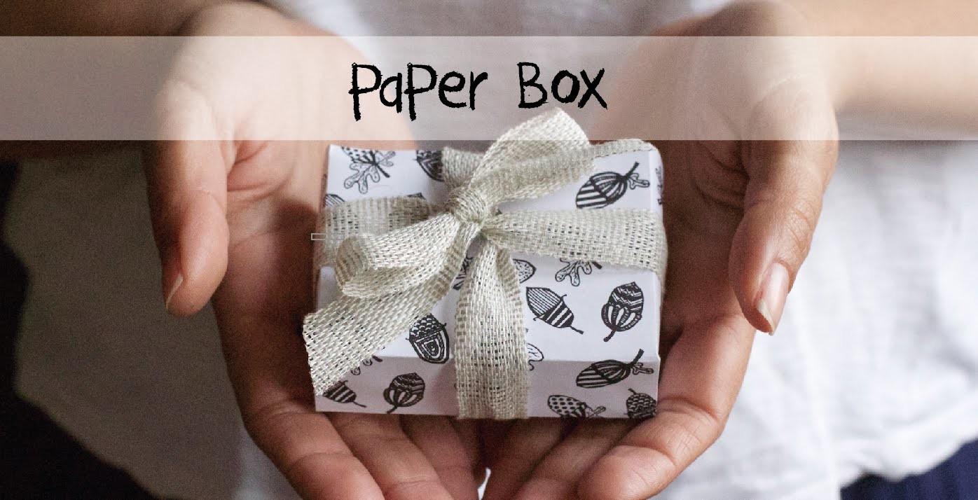DIY - Paper Box