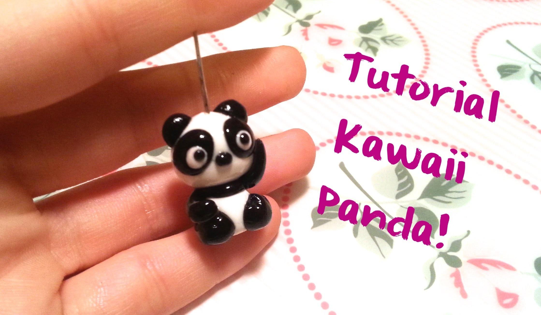DIY Polymer Clay Tutorial: Kawaii Panda!