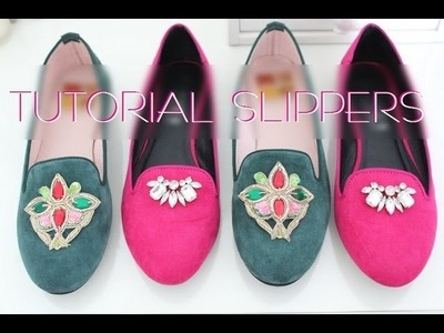 DIY Slippers Shoes Tutorial