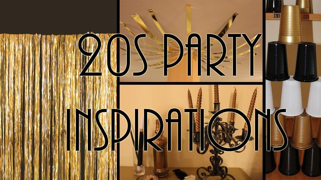 Festa a tema anni 20 idee ed ispirazioni DIY- 20s party ideas