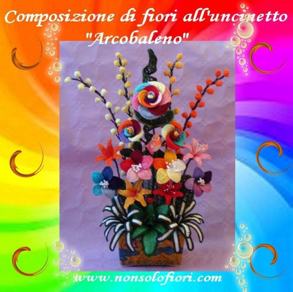 Fiori all'uncinetto   Crochet flowers