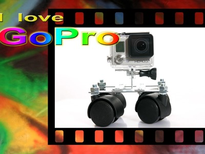Gopro tutorial italiano - Mini dolly  - DIY