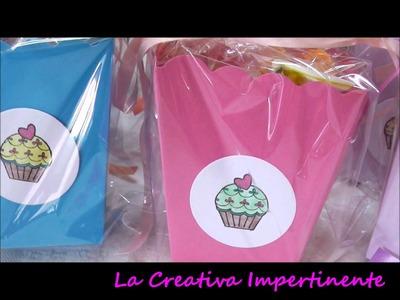 Idea e Progetto scatoline per bambini - scrapbooking, cardmaking