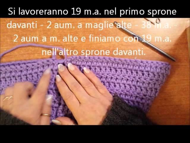 Il sacco nanna a crochet (per bebè prematuri e non) - tutorial uncinetto