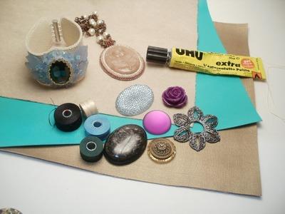 Introduzione alla tecnica bead embroidery, consigli per principianti e materiali da utilizzare