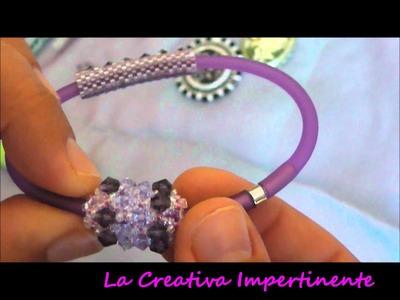 Le mie creazioni estive 2011 - cameo, beadwork, svarovski, wire crochet, wire, caucciù, beaded bead