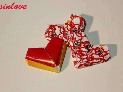 Lettera cuore origami per San Valentino   Tutorial Musinlove