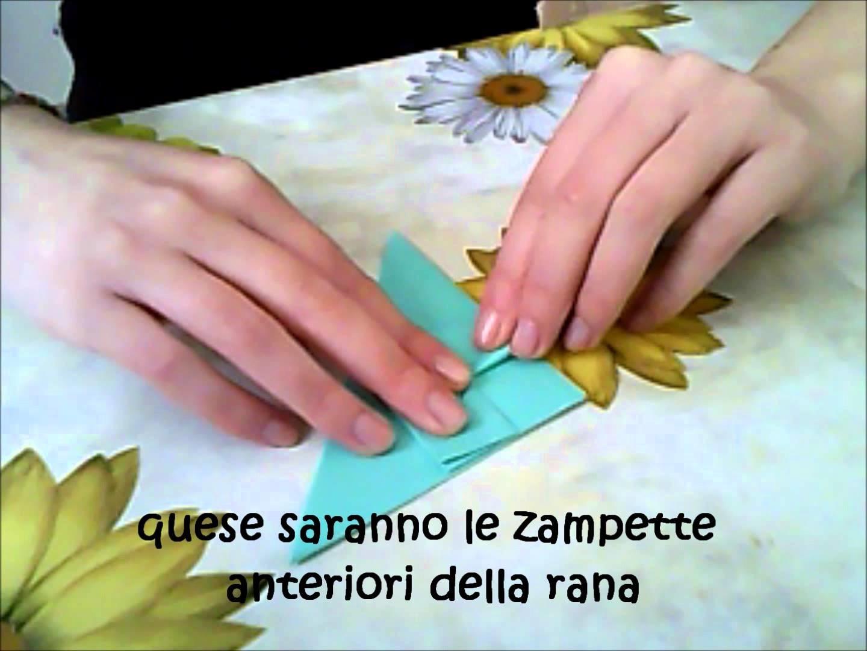 Origami#3 rana che salta