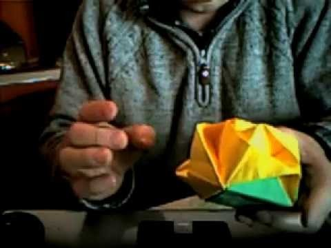 Origami cubo rose da giorgio