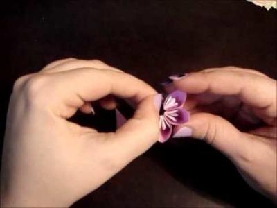 Origami Flower + Floral Kusudama