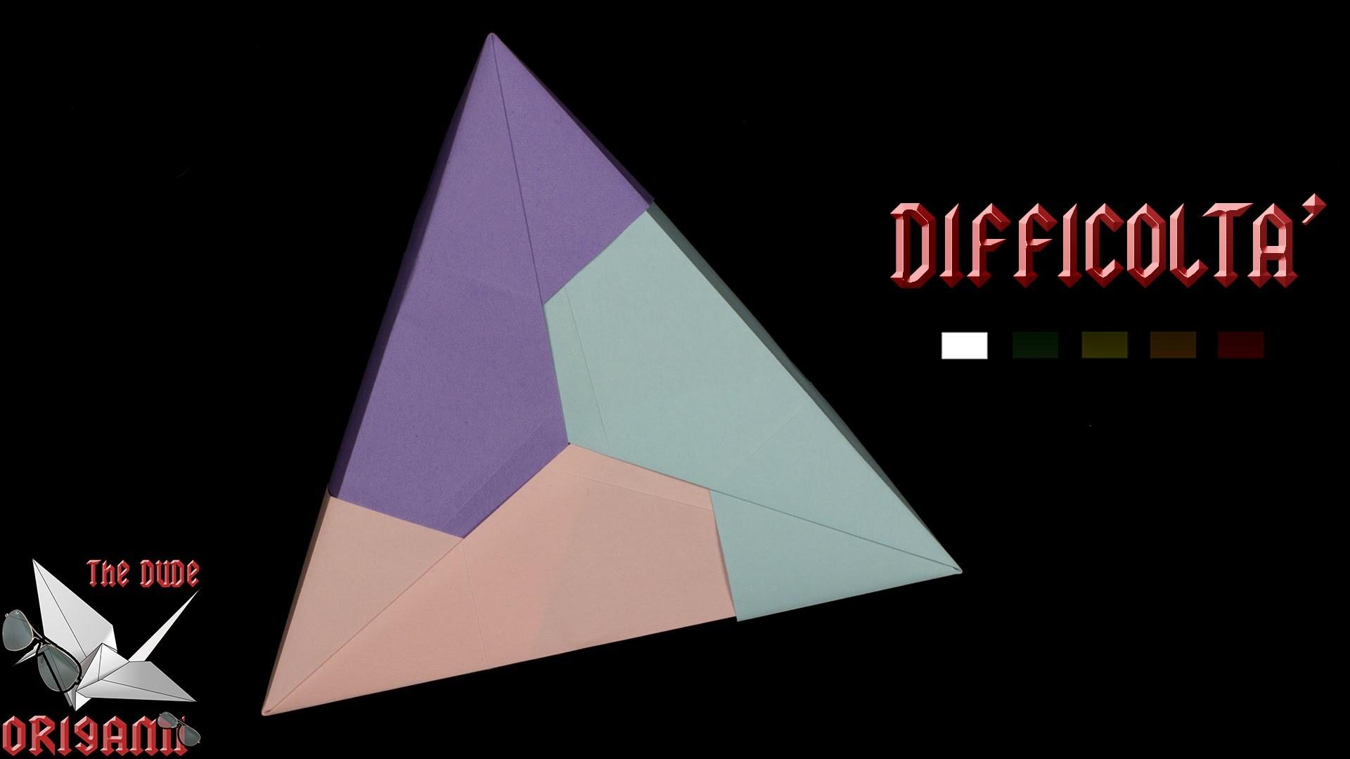 [ORIGAMI ITA] Scatola Triangolare || Scatole.Modulari.Facili