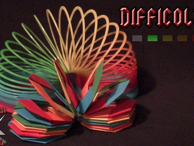[ORIGAMI ITA] Slinky (Jo Nakashima) || Origami Per Decorazioni.Per Bambini (E Non Solo!)