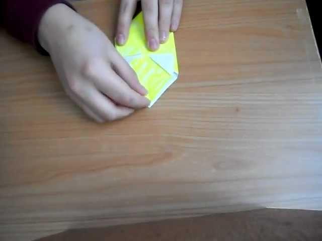 Origami: scatola-cappello (facile)