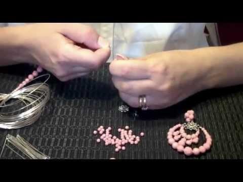 Segreti d'Artista: DIY tutorial orecchini in perle sfaccettate
