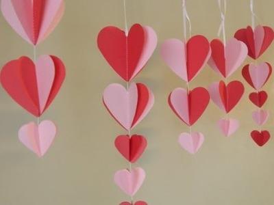 TUTORIAL: come fare DECORAZIONI ROMANTICHE d'effetto col CARTONCINO (-rIcIcLo-DiY-)