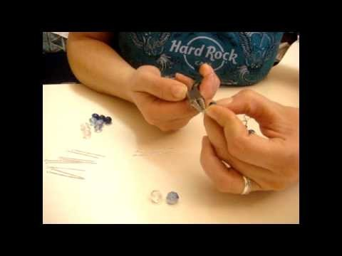 Tutorial Fantasy Craft per collana con fiore strass e pendenti