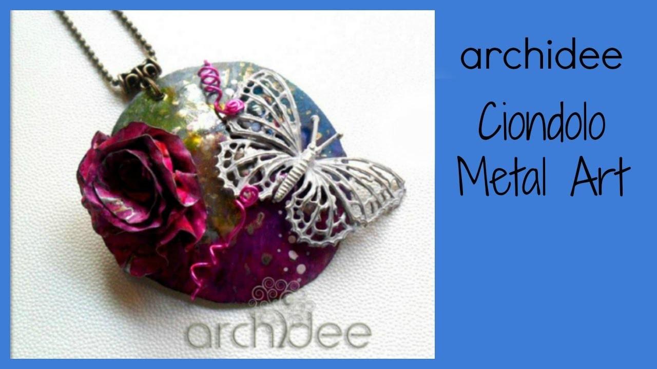 Tutorial | Metal Art | Ricicliamo una scatola di pastelli | 2° puntata | DIY