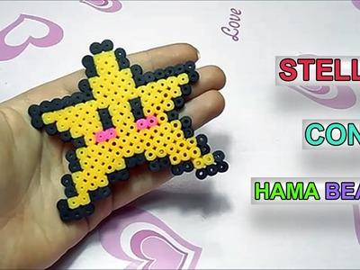 Tutorial Stella con Pyssla.Hama Beads