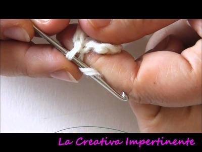 Tutorial Uncinetto - lavorare in tondo | realizzare un cerchio | DIY round crochet stitch