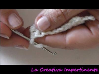 Tutorial uncinetto: maglia altissima o punto altissimo | crochet beginner