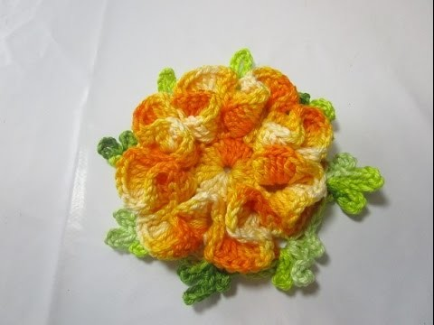 Uncinetto Crochet Tutorial Fiore Sofia