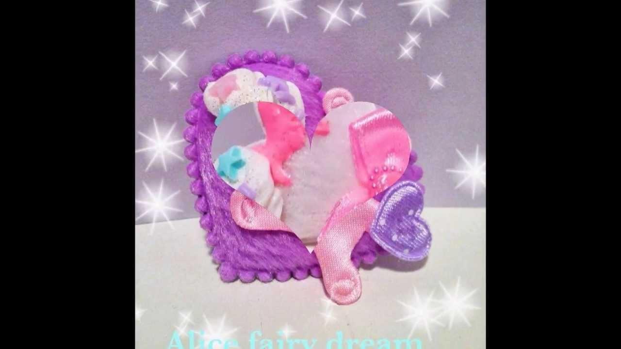 Video creazioni new creation hand made kawaii fairy kei ALICE FAIRY DREAM