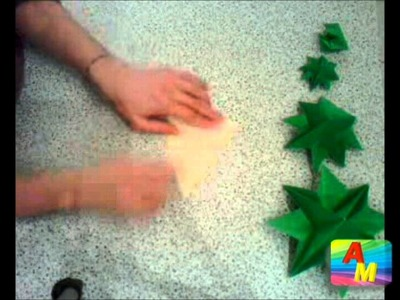Advice mom:  Albero di Natale di origami! (episode 03 part 2)