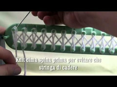 Bernat telaio per maglieria tutorial - The Crowd Crochet