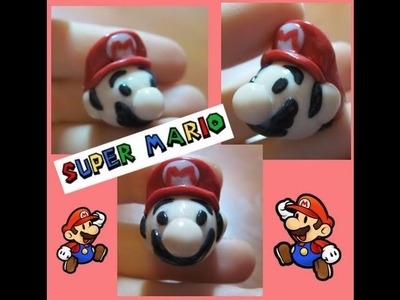 DIY Polymer clay: Super Mario!