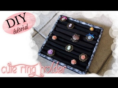 DIY Ring Holder. Tutorial: Come realizzare un Porta Anelli Facilissimo e alla Moda!