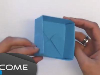 Fare una scatola con origami