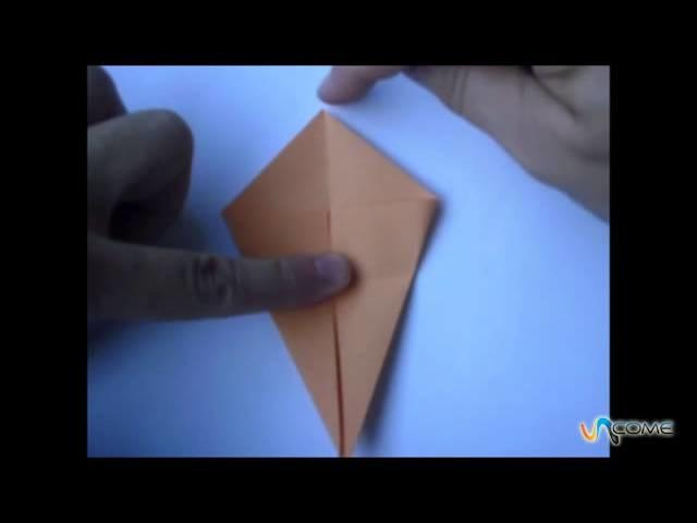 Fare una zucca di origami  - Halloween